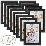Best Giftgardenフォトフレーム - Giftgarden 5x 7写真フレーム壁の装飾用またはテーブルトップ,ブラック, Pack of 12 Review