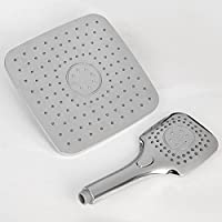 シャワーミキサー シャワーヘッドハンドヘルドトップスプレーシャワー(ABS電気メッキ)