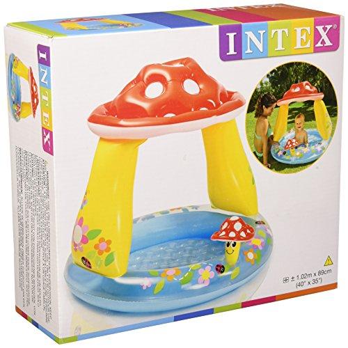 [해외]INTEX (인텍스) 버섯 베이비 수영장 2 57114/INTEX (INTEX) Mushroom Baby Pool 2 57114