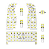 最高級LED使用 明るさ調節可能 TOYOTA トヨタ プリウス 30/40系 @ 【サンルーフなし】専用設計 ルームランプ 【SMDタイプ】7点フール セット