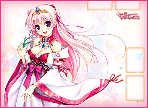 TCG万能プレイマット 千の刃濤、桃花染の皇姫 「宮国 朱璃」