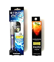 マルマン 電子PAIPO eco+フレーバーリキッド カシスオレンジ 10ml (本体ブルー)