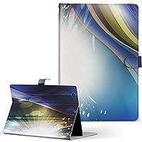 igcase d-01J dtab Compact Huawei ファーウェイ タブレット 手帳型 タブレットケース タブレットカバー カバー レザー ケース 手帳タイプ フリップ ダイアリー 二つ折り 直接貼り付けタイプ 002272 クール 蛍光 カラフル