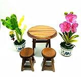 ミニチュアガーデンテーブルと椅子セット