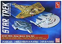 AMT 1 2500 Star Trek Cadet Deep Space 9 - 3 Ship Set [並行輸入品]
