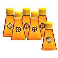純粋国産蜂蜜 つくし村の生蜂蜜 百花蜜1200g 200gペットボトル6本セット