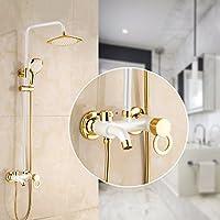 全銅のシャワーレースセットはヨーロッパ式リンチをかけて壁式シャワーをかける,b