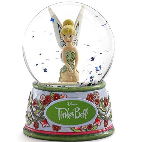 디즈니 스노우 돔 T 가베루  (피터팬) 워터 글로브 100mm 목각조 피규어 디즈니・tradition-