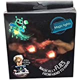3D Honeybee Projector Finger Magic Cube Lamps Bright Bugz Evolution Game Tricks Props Magically Flies From Hand To Hand