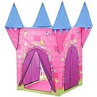 llzj Children PlayテントトンネルチューブHouse CastleプリンセスPrinceアウトドアインドア使用ポータブル折りたたみ式CubbyケースCarry登山Playgroundストレージおもちゃゲームtent-1611