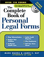Complete Book Of Personal Legal Forms: (+ CD-ROM)