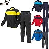 プーマ PUMA トレーニングウェア サッカーピステ 上下セット ジュニア 654811/654814 0101:ブラック×ブラック 160