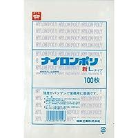福助工業 ナイロンポリ 新Lタイプ規格袋 No.22 (200枚)巾340×長さ480mm