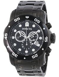 [インヴィクタ]Invicta 腕時計 Pro Diver Collection Chronograph Black 0076 メンズ [並行輸入品]