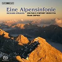 R.シュトラウス : アルプス交響曲、交響幻想曲「影のない女」 (R.Strauss : Eine Alpensinfonie / Shipway, Sao Paulo SO) [SACD Hybrid] [輸入盤]