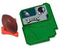 CAKEMAKE NFL Football & Tee, Cake Topper, Philadelphia Eagles [並行輸入品]