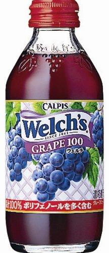 Welch's グレープ 180g×30本