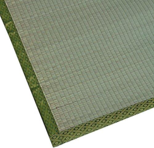 純国産い草上敷 熊本県産い草使用 双目織 「有明」 本間6畳(286x382cm)