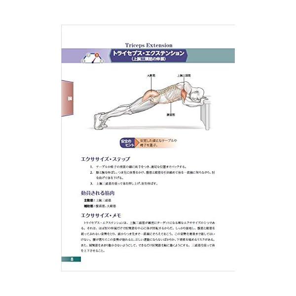 自重筋力トレーニングアナトミィの紹介画像3