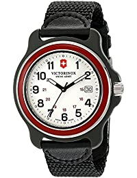 (ビクトリノックス) VICTORINOX Men's 249085 Original XL Analog Display Swiss Quartz Black Watch 男性腕時計 [並行輸入品] LUXTRIT
