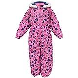 アスナロ(スキーウェア) ジャンプスーツ キッズ 子供 女の子 撥水 ハート 防寒 スキーウェア120 ピンク