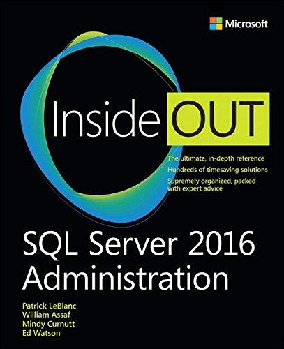 [画像:SQL Server 2017 Administration Inside Out]
