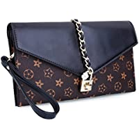 EROGE Evening Bag Women Oversized Flower Designer Evening Clutch Handbag Wristlet with Lock