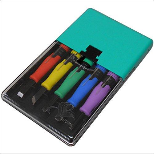 [해외]조각도 컬러 N 5 개 세트 오른 손잡이/Sculpture sword color N 5 sets Right handed