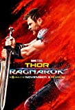 マイティ・ソー バトルロイヤル Thor: Ragnarok シルク調生地 ファブリック アート キャンバス ポスター 7 約60×90cm マイティー ソー [並行輸入品]