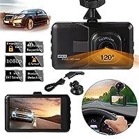 """XCSOURCEフルHD 1080p車DVRビデオカメラ3.0"""" LCDスクリーン車GセンサーループレコーダーHDMIモーション検出IR ma1146"""