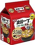 日清お椀で食べる出前一丁醤油3食パック102g×9袋