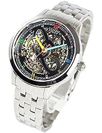 コグ COGU 両面スケルトン 腕時計 並行輸入品 オートマチック ブラックマルチカラー 3009M-BC [時計]