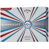 Callaway(キャロウェイ) ゴルフボール SUPER SOFT 12個入り ホワイト  6419354120044