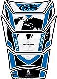 MOTOGRAFIX(モトグラフィックス) タンクパッド BMW R1200 GS Adventure 06-13 ホワイト/ブルー MT-TB028WB