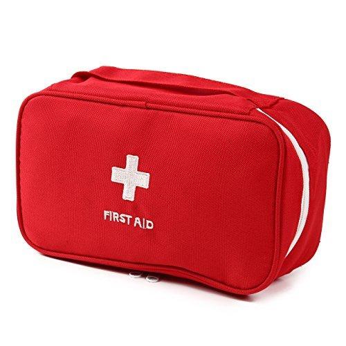 (ワイワイエー)Y.Y.A メディカルポーチ 緊急応急 救急箱 応急処置 防災 (レッド)