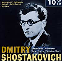 Shostakovich: Symphonies, Concertos, Piano Works, Chamber Music