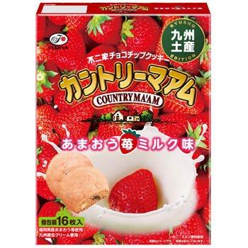 【九州限定】16枚カントリーマアム(あまおう苺ミルク味)