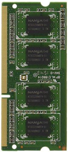 アドテック DOS/V用 DDR3L-1600 SO-DIMM 2GBx2枚組 1.35V 省電力 ADS12800N-LH2GW