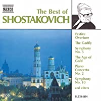 Best of Shostakovich by DIMITRI SHOSTAKOVICH (1999-06-22)