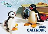 【新作】2018年 ピングー ウォール カレンダー 壁掛け pingu