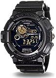 カシオ Gショック CASIO G-SHOCK G-9300GB-1DR MUDMAN マッドマン ソーラー 腕時計 海外モデル ブラック×ゴールド 逆輸入品