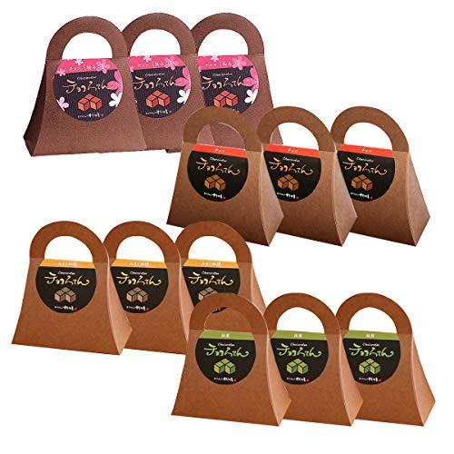 伊豆河童 チョコろてん 12個 アソートセット (桜みつ ダブルチョコ みるく珈琲 チョコ抹茶 各3個) ホワイトデー 向け