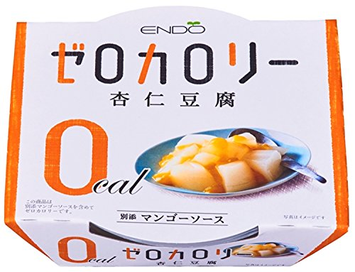 遠藤製餡 Nゼロカロリー杏仁豆腐 108g×6個