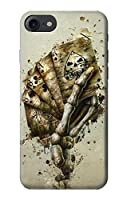 JP0550IP8 スカルカードポーカー Skull Card Poker IPHONE 8 ケース