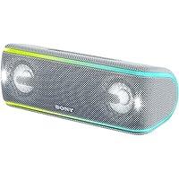 ソニー SONY ワイヤレスポータブルスピーカー SRS-XB41 W : 防水/防塵/防錆/Bluetooth/専用スマホアプリ対応 ライティング機能 2018年 ホワイト