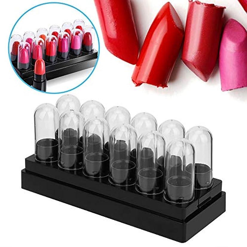 腹部気を散らす守る12ピースプラスチック口紅サンプルチューブ充填口紅チューブミニリップクリーム空管DIY化粧品ツール
