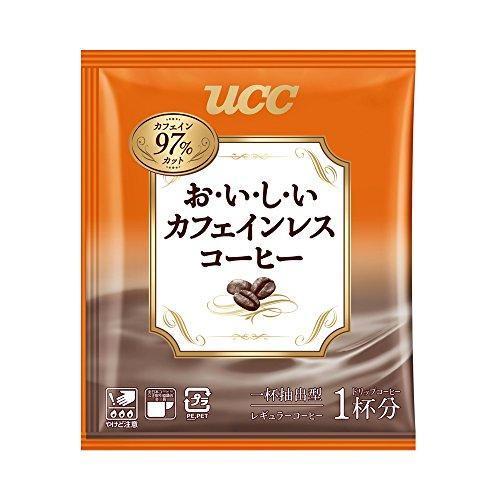 UCC上島珈琲『おいしいカフェインレスコーヒードリップコーヒー』