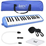 Baisidai 37 Key Melodica & Deluxe Carrying Case (Blue)