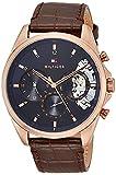 [トミーヒルフィガー] 腕時計 BAKER 1710453 メンズ ブラウン [並行輸入品]