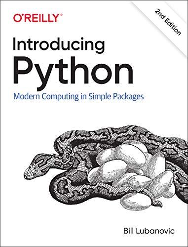 [画像:Introducing Python: Modern Computing in Simple Packages]